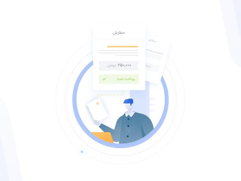 ارسال پیامک به مشتری بعد از ثبت سفارش در ووکامرس